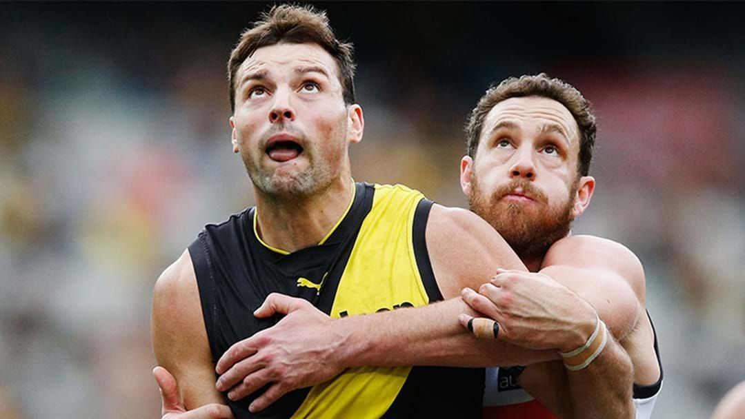 Article heading image for Toby Nankervis Withdrawn From Sunday's Clash Against West Coast