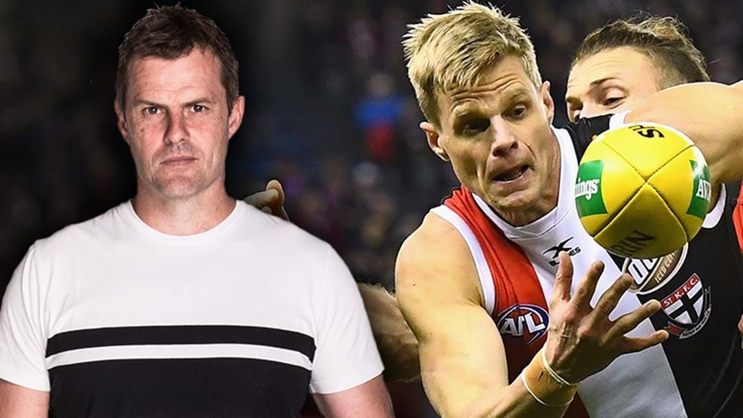 Article heading image for Luke Darcy Addresses The Future Of Nick Riewoldt