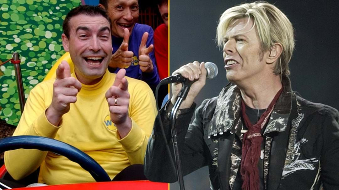 Article heading image for Did One Of The Former Wiggles Pinch A Song Off David Bowie?