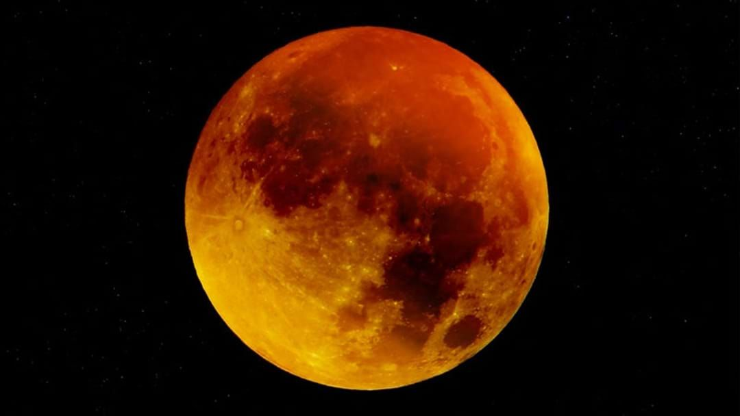 A Pink Super Moon Will Cover Australia Tonight Hit Network