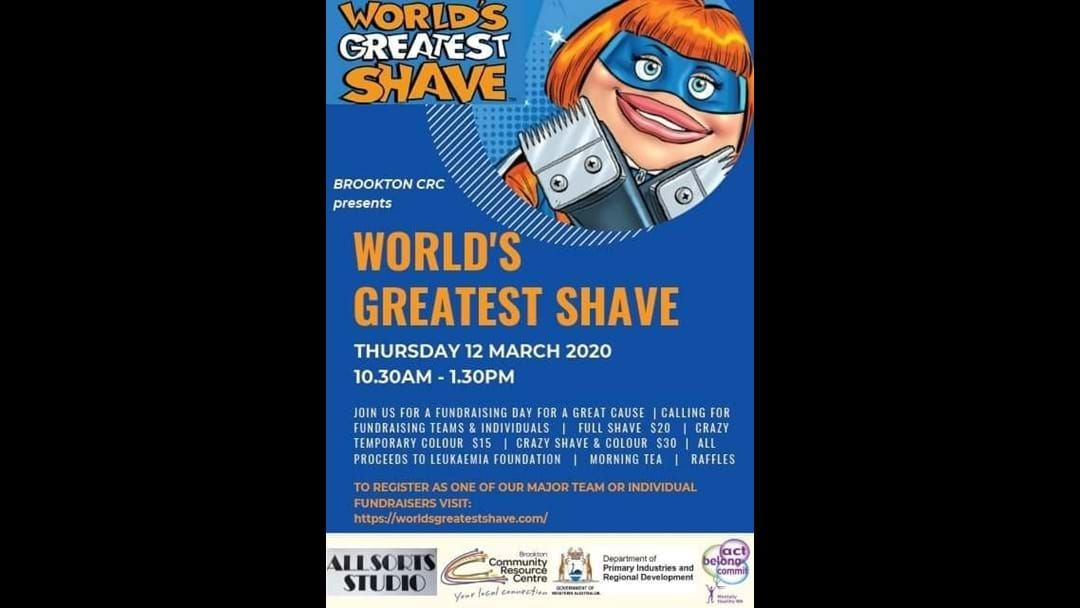Article heading image for Worlds Greatest Shave @ Brookton CRC
