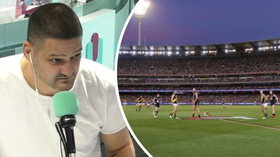"""Article heading image for """"Don't Take The Piss And Think It's A Holiday!"""" Brendan Fevola Fired Up About The AFL Footy Hub"""