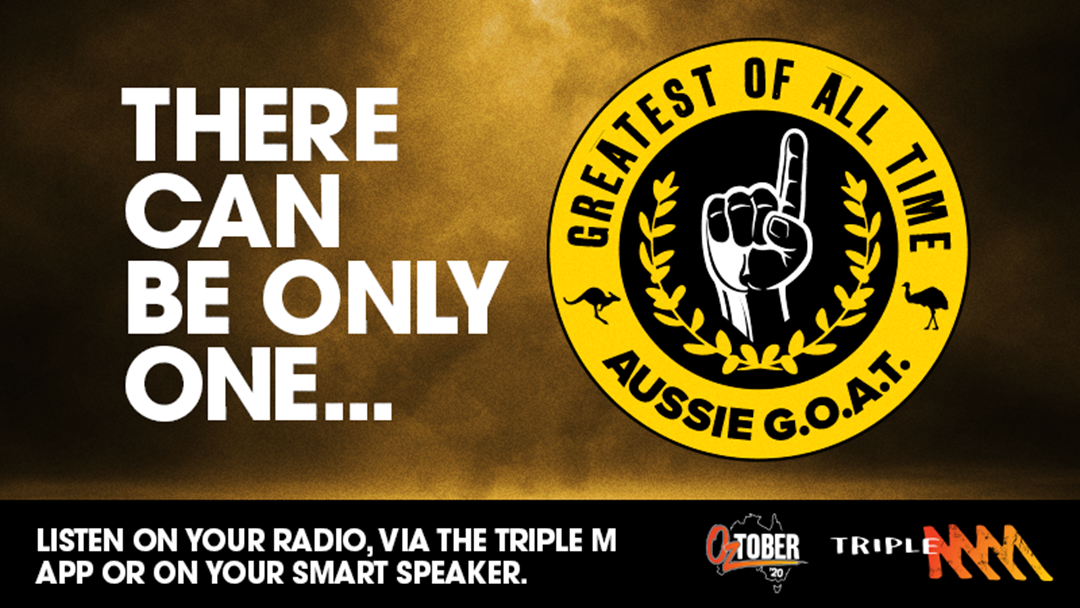 Competition heading image for Triple M's Aussie Greatest Of All Time