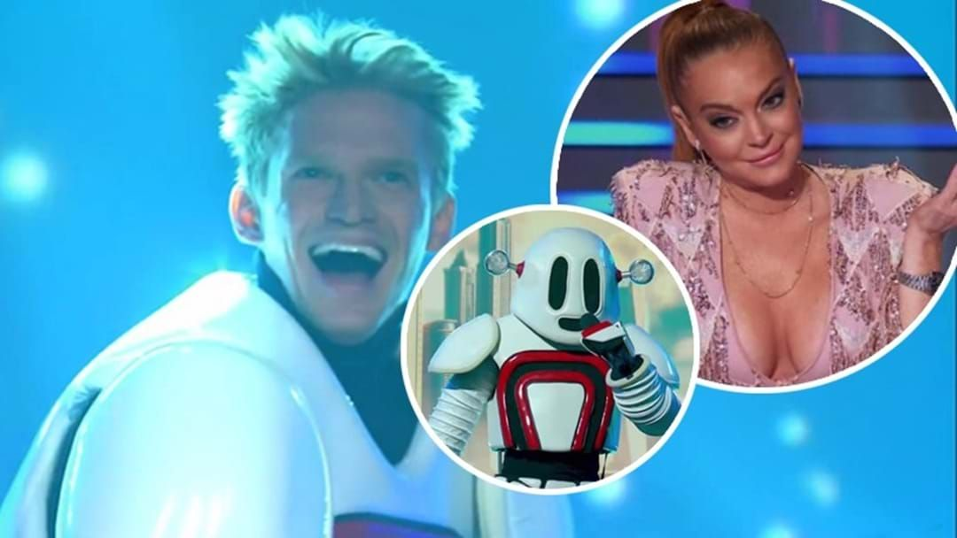 Article heading image for According To Cody Simpson, Lindsay Lohan Identified Him Because He Was The Only Australian She Knew