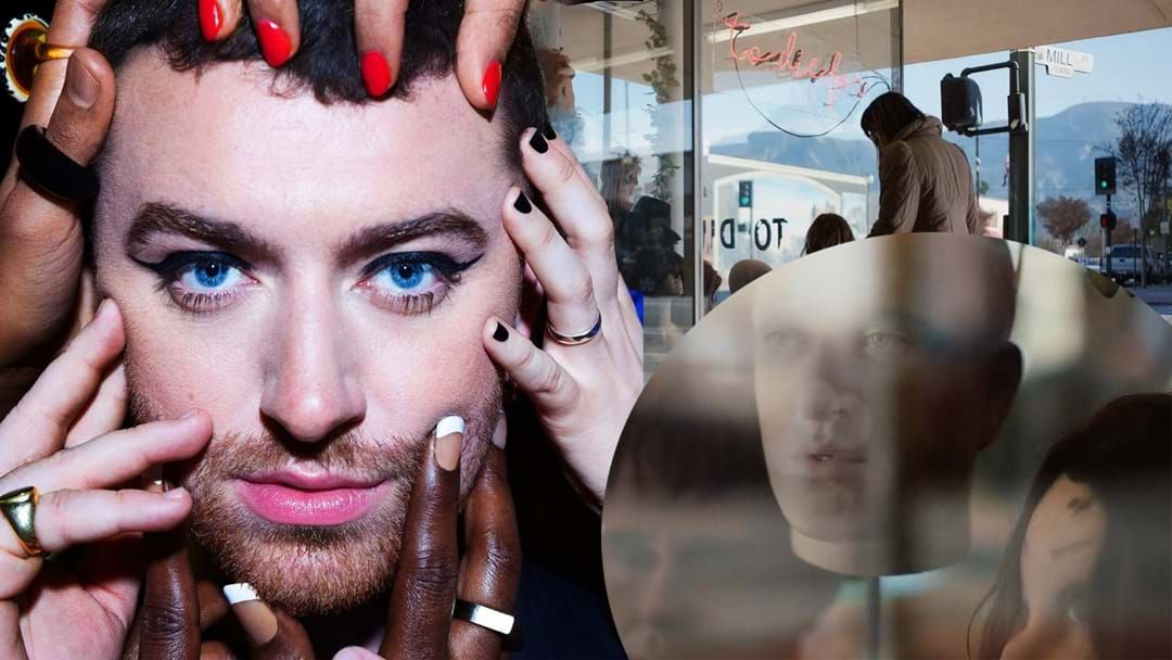 Article heading image for Sam Smith Goes Bald In New Clip