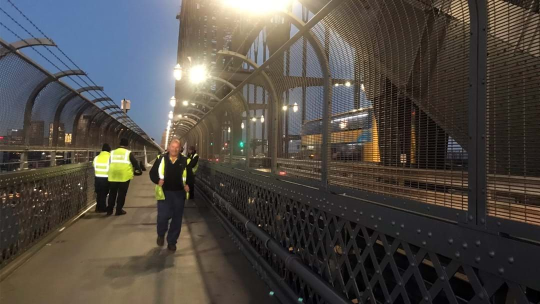 Article heading image for Protesting Abseilers Have Forced Closed Lane Eight On The Harbour Bridge