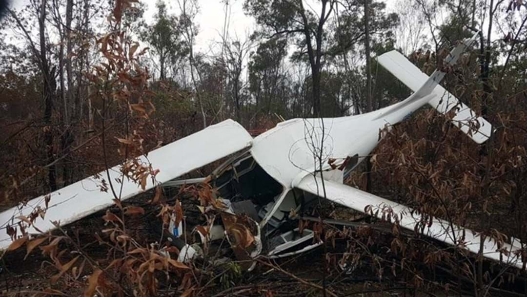 Article heading image for Man Lucky to be Alive after Light Plane Crash