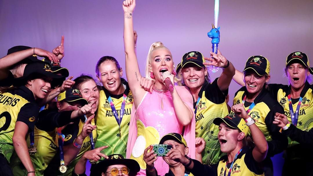 Article heading image for See Katy Perry And Her Baby Bump Rock The Stage!