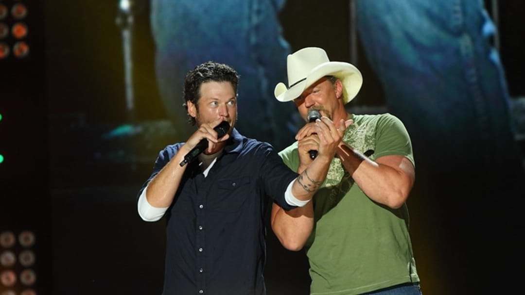 "Article heading image for Blake Shelton and Trace Adkins Set to Release New Single Together ""Hell Right"""