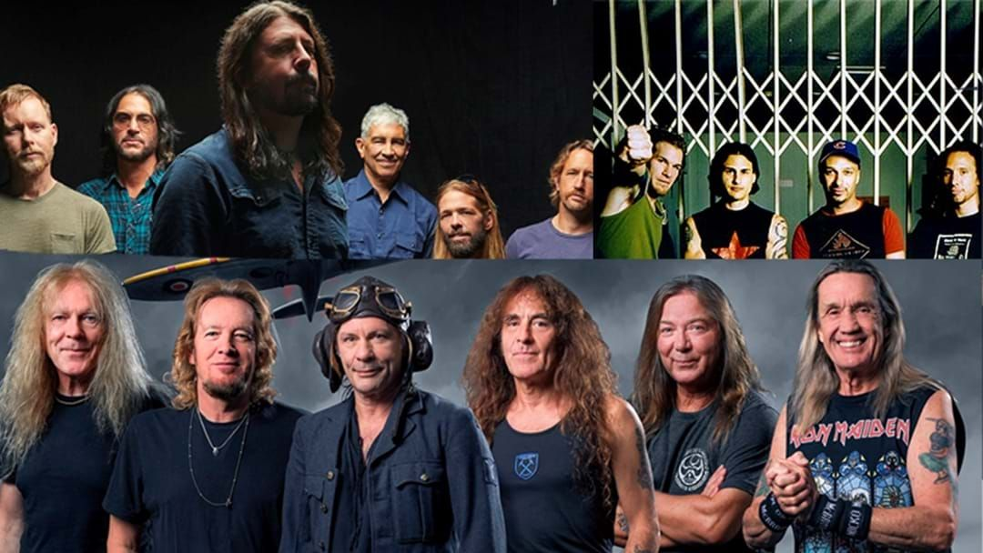 Article heading image for Foo Fighters, Iron Maiden And Rage Against The Machine 2021 Rock And Roll Hall Of Fame Nominees