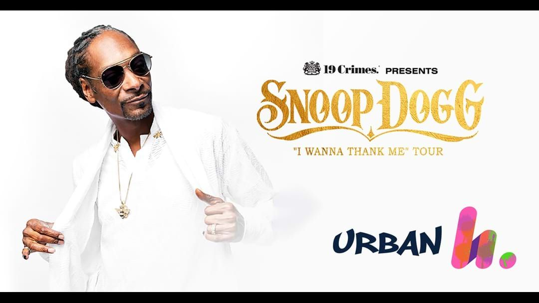 Competition heading image for Win Tickets to Snoop Dogg!