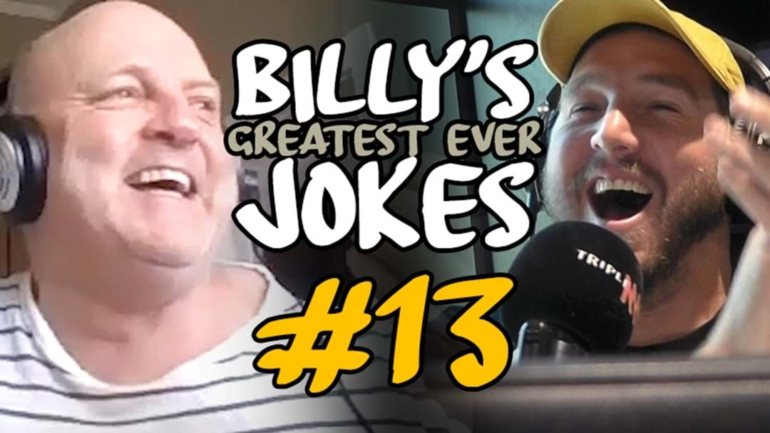 Article heading image for BILLY'S GREATEST JOKES EVER | #13: The Threesome Joke