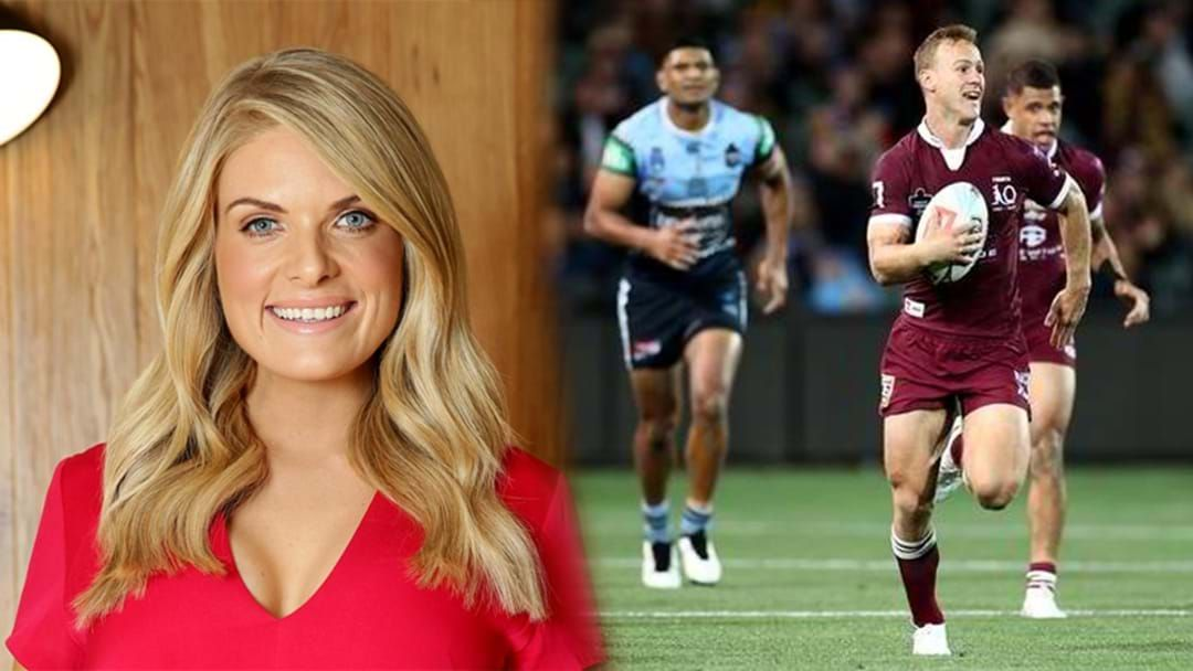 Article heading image for Erin Molan Breaks Down The State Of Origin And Runs With A Crazy Theory!