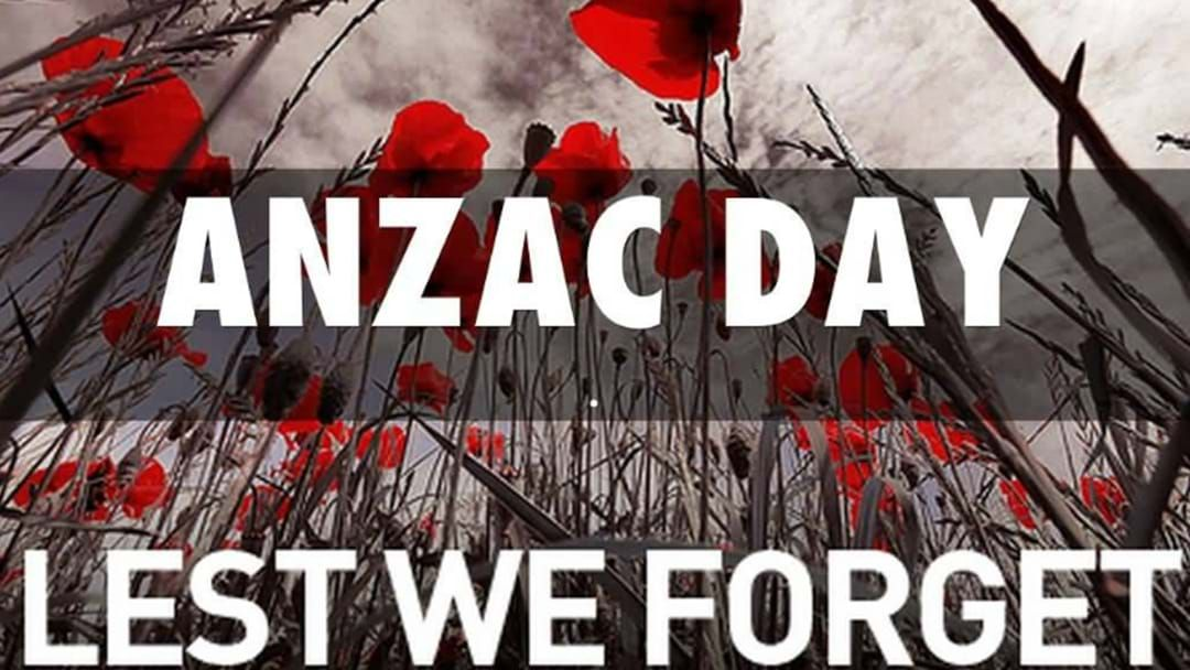 Article heading image for The A-Z Of Where To Pay Tribute This ANZAC Day