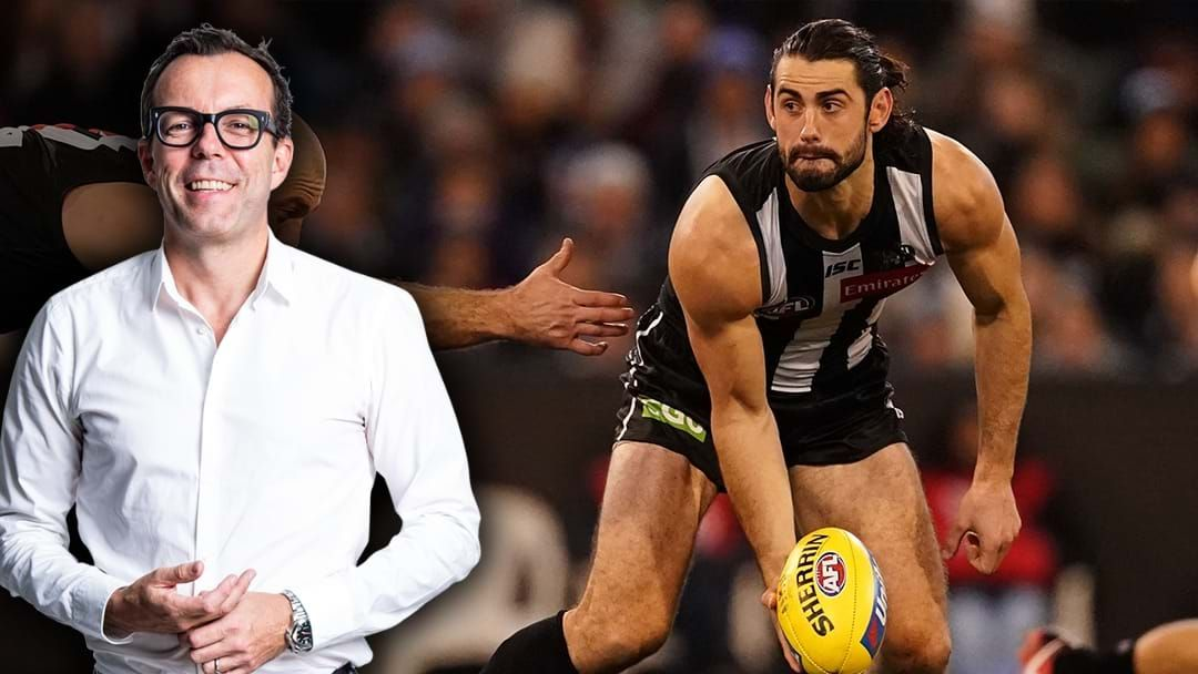Article heading image for From The Vault: Damo's Bold Prediction About Brodie Grundy From Six Years Ago