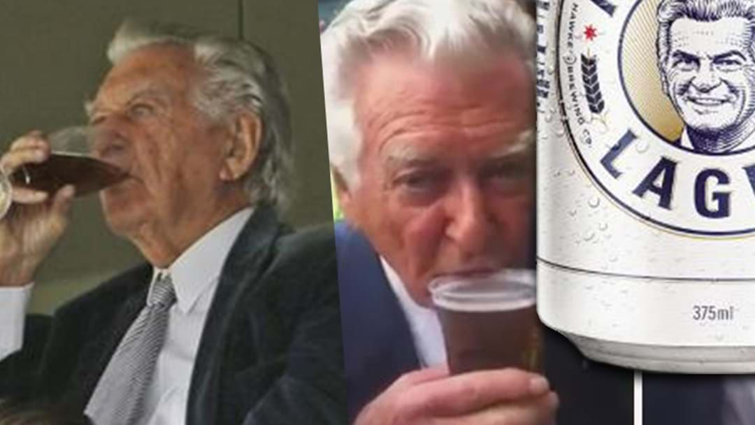 Article heading image for Bob Hawke Drops New Beer Named After Himself