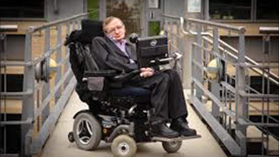 Article heading image for Stephen Hawking Has Died Aged 76