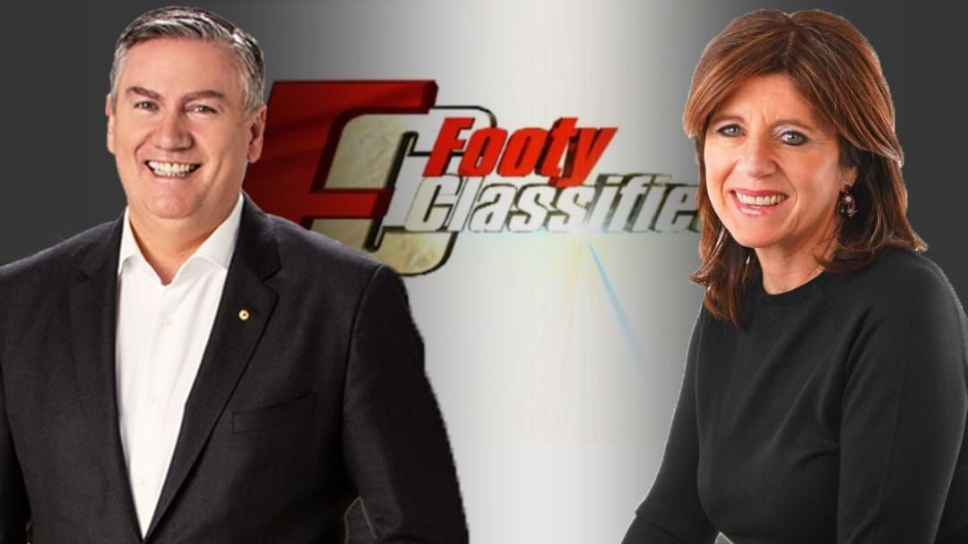 Article heading image for Eddie McGuire & Caroline Wilson On The New Wednesday Footy Classified