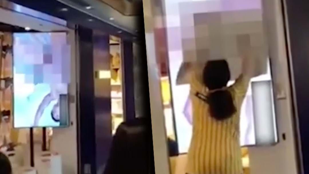 Article heading image for IKEA Store Accidentally Plays Porn On Big Screen TV