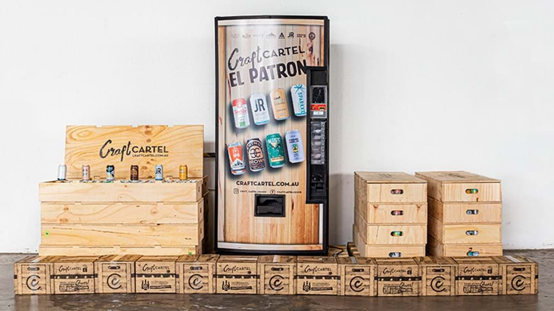 Article heading image for Beer Vending Machines Are Real And You Can Get One
