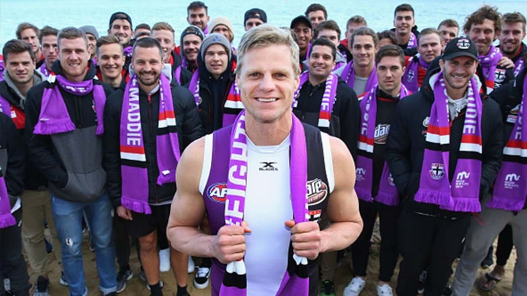 Article heading image for Nick Riewoldt Just Broke An All Time VFL/AFL Record