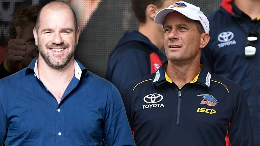 Article heading image for Roo Responds To Don Pyke Stepping Down As Adelaide Crows Head Coach