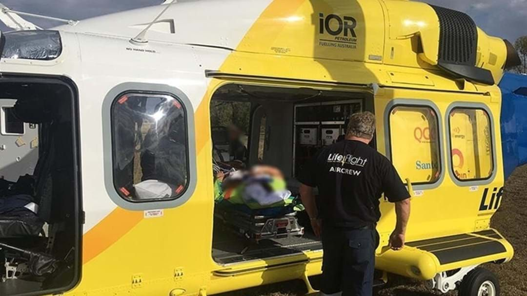 Article heading image for Boy Airlifted to Toowoomba Hospital after Horse Kick to the Head
